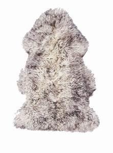 Peau De Mouton Naturelle : peau de mouton naturelle de haute qualite shepherd noir tapis en laine pinterest ~ Teatrodelosmanantiales.com Idées de Décoration