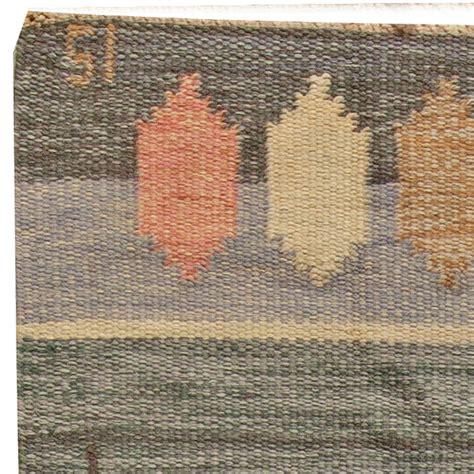 flat weave rugs vintage swedish flat weave rug signed by ingegerd silow
