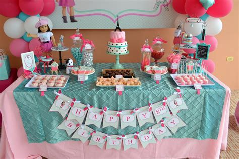 partylicious  pr american girl cupcake party