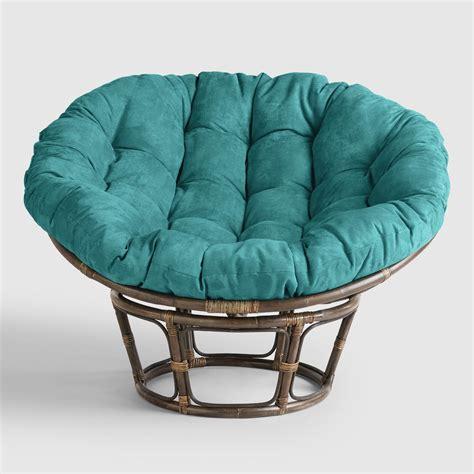 cusion floor porcelain micro suede papasan chair cushion market