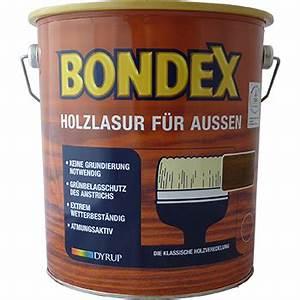 Holzlasur Farben Aussen : 12 67 l bondex holzlasur f r aussen 750ml holzschutzlasur farbwahl ebay ~ One.caynefoto.club Haus und Dekorationen