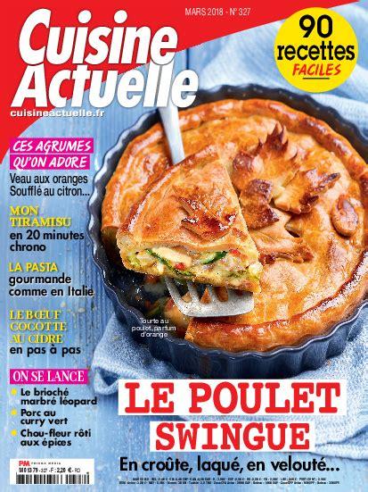 prismashop cuisine actuelle abonnement magazine cuisine actuelle pas cher prismashop