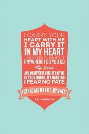 Carry You In My Heart Quotes
