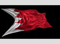 Flag Of Qatar Beautiful 3d Animation Of Qatar Flag With
