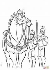 Coloring Maximus Pages Rapunzel Guards Royal Disney Guard Horse Security Printable Tangled Colouring Template Ariel Supercoloring Adult Fresh Horses sketch template