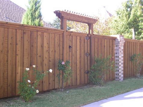 wood fence gate  pergola   entrance wood