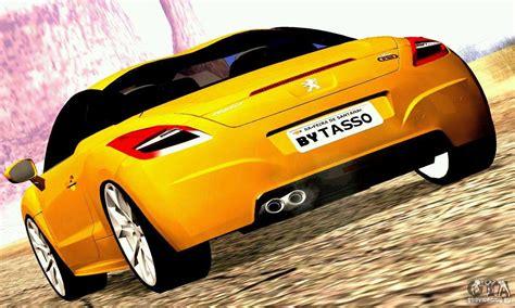 Peugeot Sa by Peugeot Rcz 2011 For Gta San Andreas
