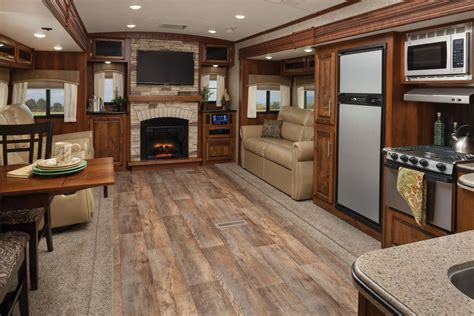 Galley Kitchen Decorating Ideas - 2016 eagle luxury travel trailers jayco inc