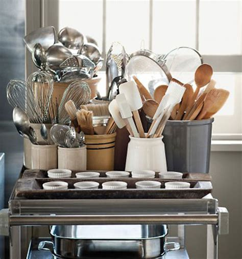 kitchen utensils storage containers 5 stylish kitchen storage ideas the decorating files 6376