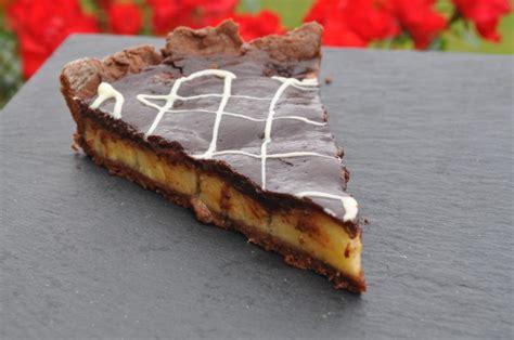 tarte chocolat banane 224 tomber cuisine avec du chocolat ou thermomix mais pas que