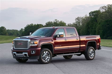 2019 gmc 3 4 ton truck gmc teases new duramax with photos of 2017 scoop