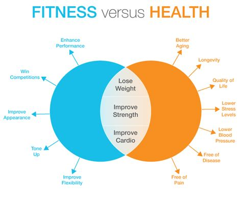 health fitness fitness versus health what s the difference goodfoodmama