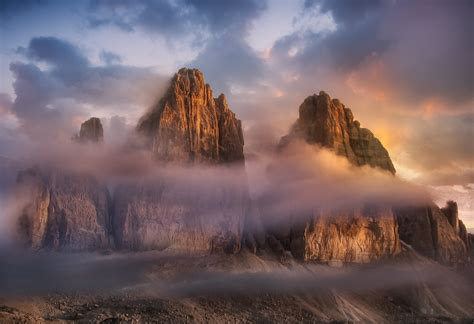 Tre Cime Di Lavaredo Mountain In Italy Thousand Wonders