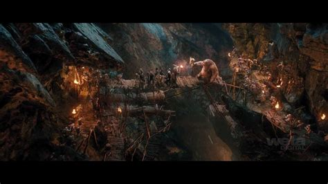 """Many adventurers have tried to explore this cave. Weta Digital's artistry behind The Goblin Caverns from """"The Hobbit: An Unexpected Journey"""" - YouTube"""