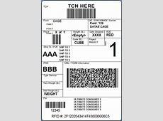 Box Label Template Templates Data