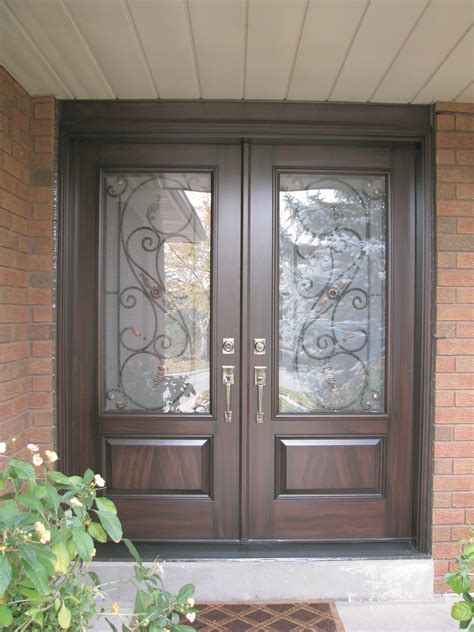entry doors with glass 200 series insulated fiberglass entrance doors fibertec