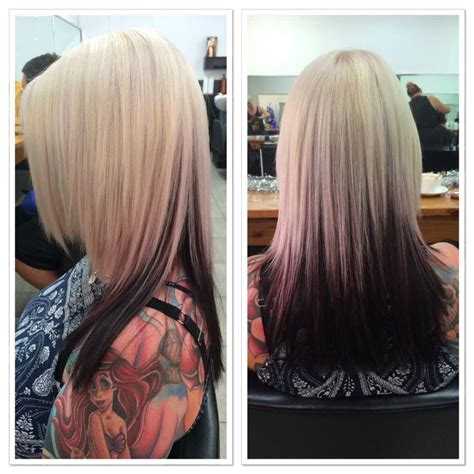 Amazing Blonde With Dark Underneath Hair By Aj Blonde