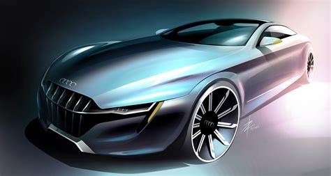 Car Design Concepts :  Futuristic Audi Concept Car Designs