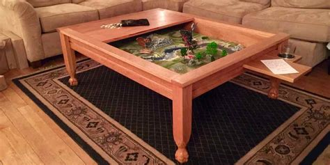 Geek Chic Gone? Build Your Own Gaming Table! Geekdad