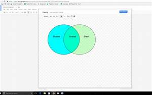 How To Make A Venn Diagram On Google Docs And Slides