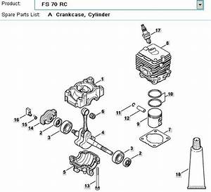 Stihl Fs 70 Rc Parts Diagram