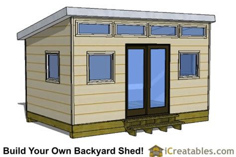 Barn Shed Plans 10×16