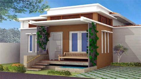 warna cat depan rumah trend  dekhom