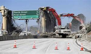 LA's Sixth Street Viaduct is ripped down to make way for a ...