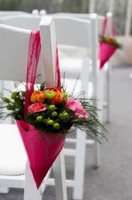 Flowers for Church Pew Wedding Decoration