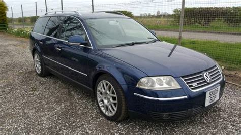 Vw W8 Engine For Sale by 2005 Vw Passat Estate 4motion With W8 Engine For Sale