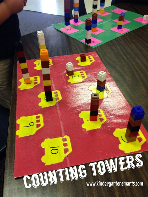 Handson Math Centers For The Beginning Of The Year  Going To Make A Few Of These For My First