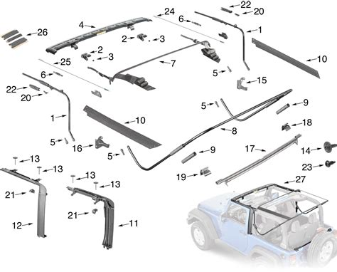 2007 2015 Jeep Oem Parts Diagram, 2007, Free Engine Image