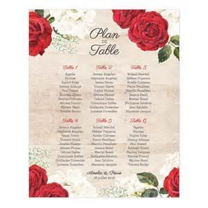 impression menu mariage plan de table de mariage imprimé et bois