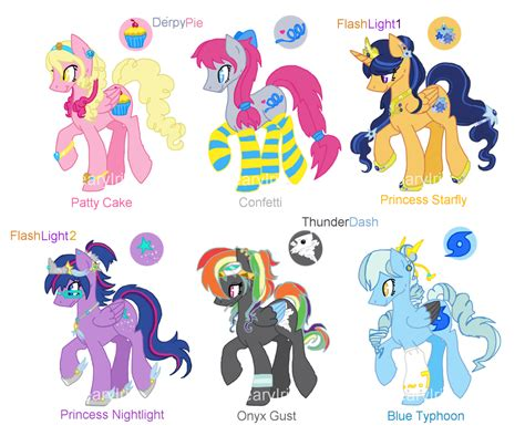 mlp shipping draw  adopts  winners announced