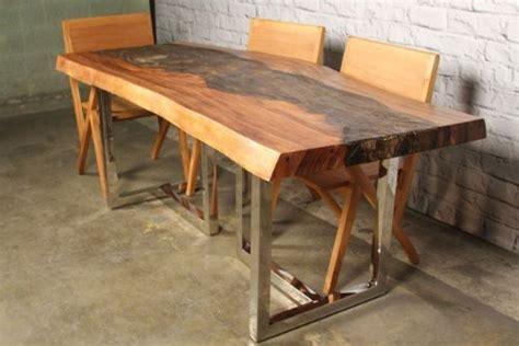 IndoModern IndoModern Nebula Erotion Dining Table, Brown
