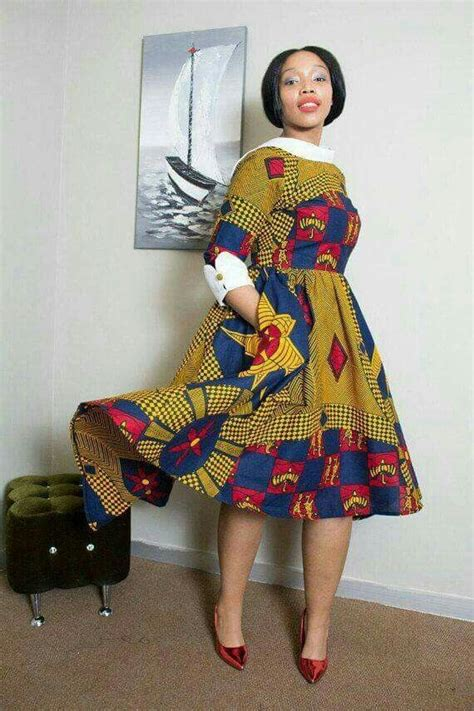 I Like The Sleeve And The Collar In 2019 African Attire