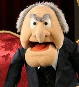 Image Gallery statler muppets
