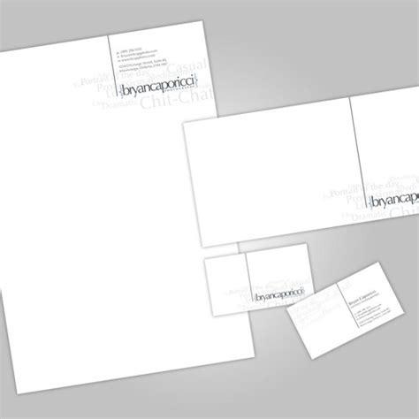 Business Card + Header + Envelope + Stationary Skeleton