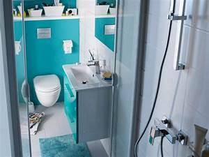 Salle D Eau 3m2 : salle d eau 3m2 petite salle de bain ides fonctionnel et ~ Dailycaller-alerts.com Idées de Décoration