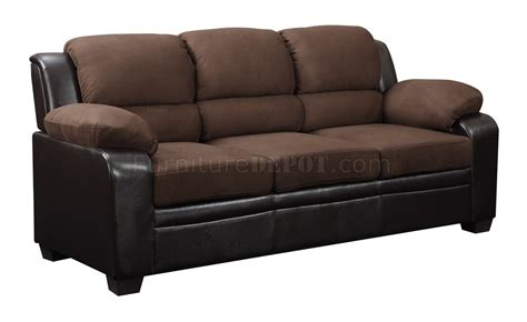 Chocolate Loveseat by U880018 Sofa Loveseat Chocolate Microfiber By Global W