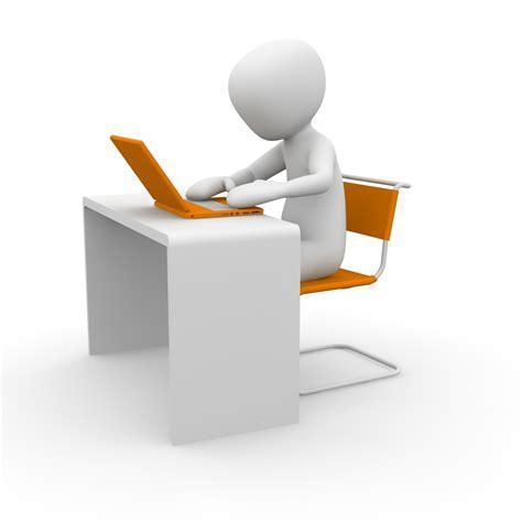 bureau de travail blanc homme bureau travail ordinateur informatique images