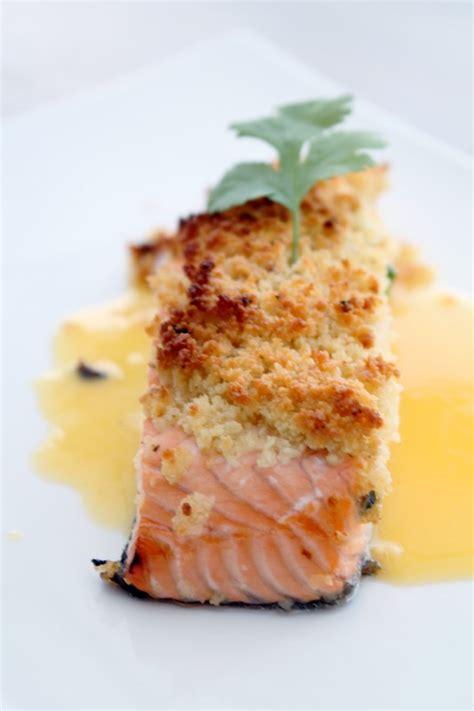 cuisine de tous les jours saumon au fruit de la en croûte à la tonka