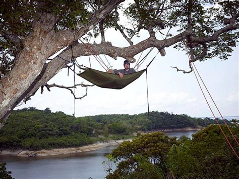 Hammock In The Trees by Fascinating Idea Concept Oversized Tripod Hammock Stand