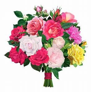 Rose Bouquet Free Clipart