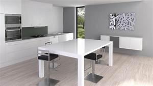 Salle A Manger Blanc Laqué : best salle a manger blanc laque belgique pictures ~ Dallasstarsshop.com Idées de Décoration