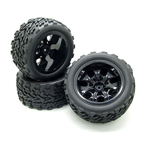10 Rc Monster Truck Car Wheel Type Tires With 7
