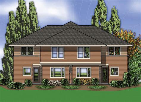 Hillside Multi-family Home Plan