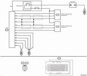 Subaru Legacy Service Manual  F   O2 Sensor