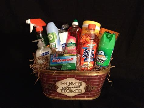 Home Sweet Home Basket. This Basket Contains The Essential