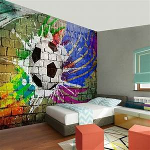 Fussball Kinderzimmer Ideen : kinderzimmereinrichtung fu ball designs kinderzimmer einrichtungen wanddeko und fu ball ~ Markanthonyermac.com Haus und Dekorationen